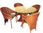 Плетеная мебель собственного изготовления