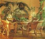 Интерьер квартиры в стиле ротанга