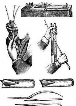 Некоторые тонкости искусства плетения