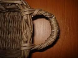 Секреты плетения ручек и донышек