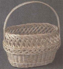 На рынок с плетеной сумкой «Модница»
