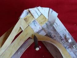 Материал  для плетения  лаптей